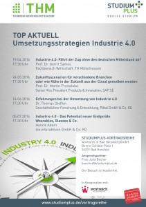 """Vortragsreihe """"Umsetzungsstrategien Industrie 4.0"""""""