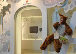 Wo in der wortreich-Erlebnisausstellung hat der Osterhase die Eier versteckt?